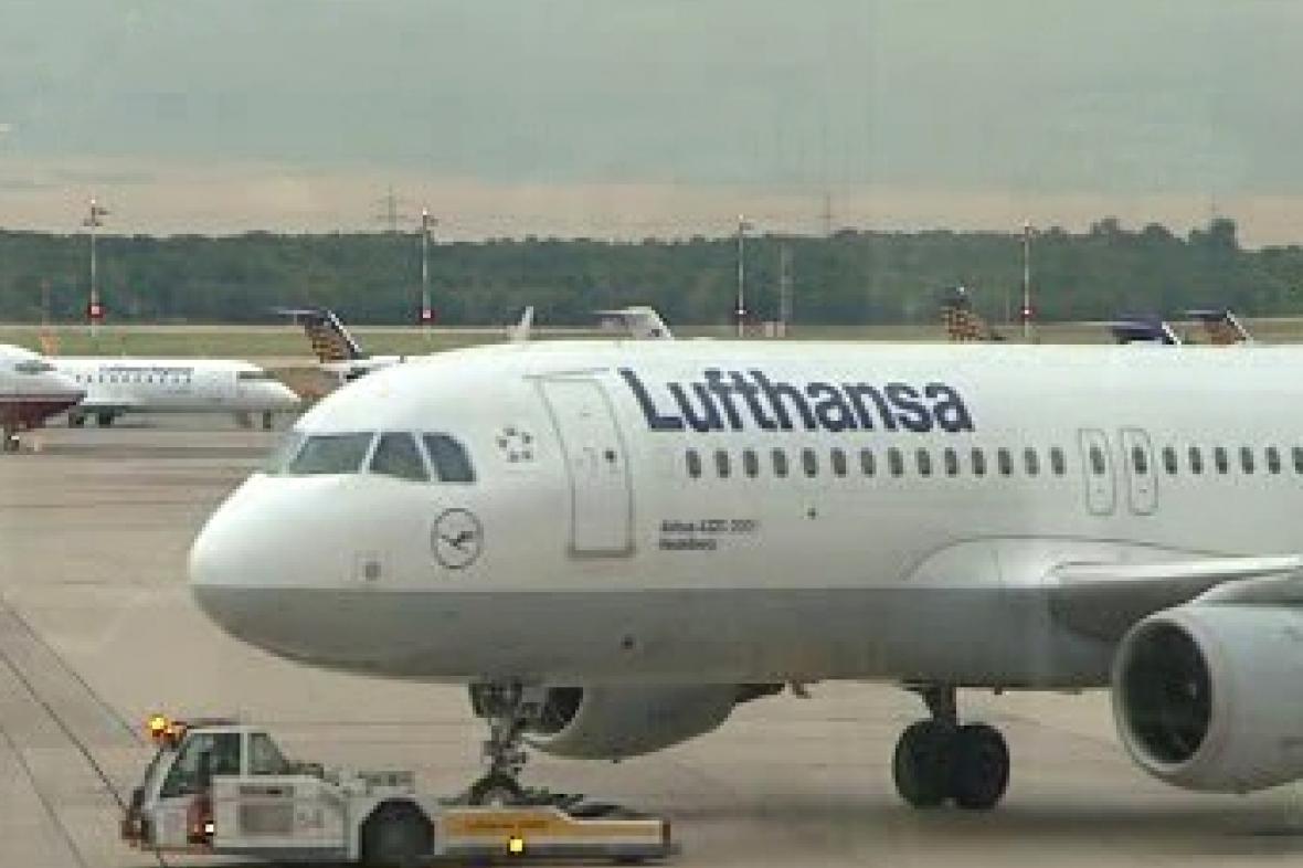 Letadlo německé Lufthansy