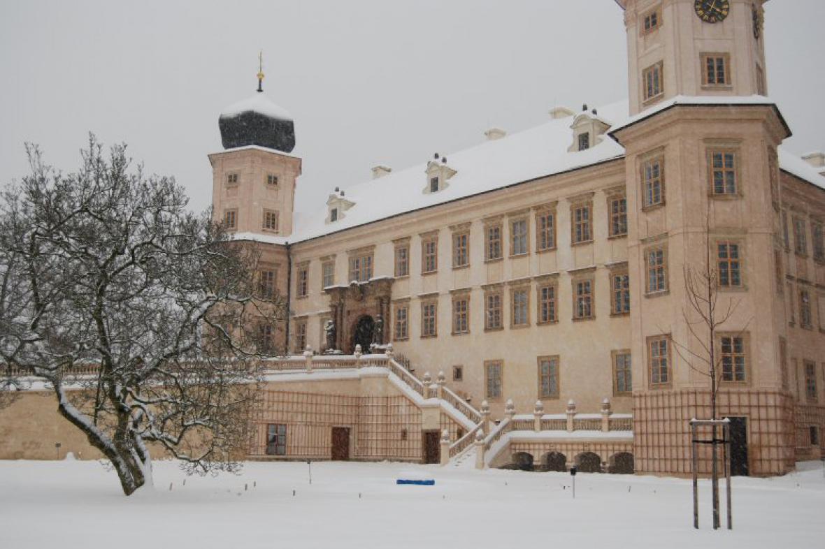 Mníšek pod Brdy - zámek