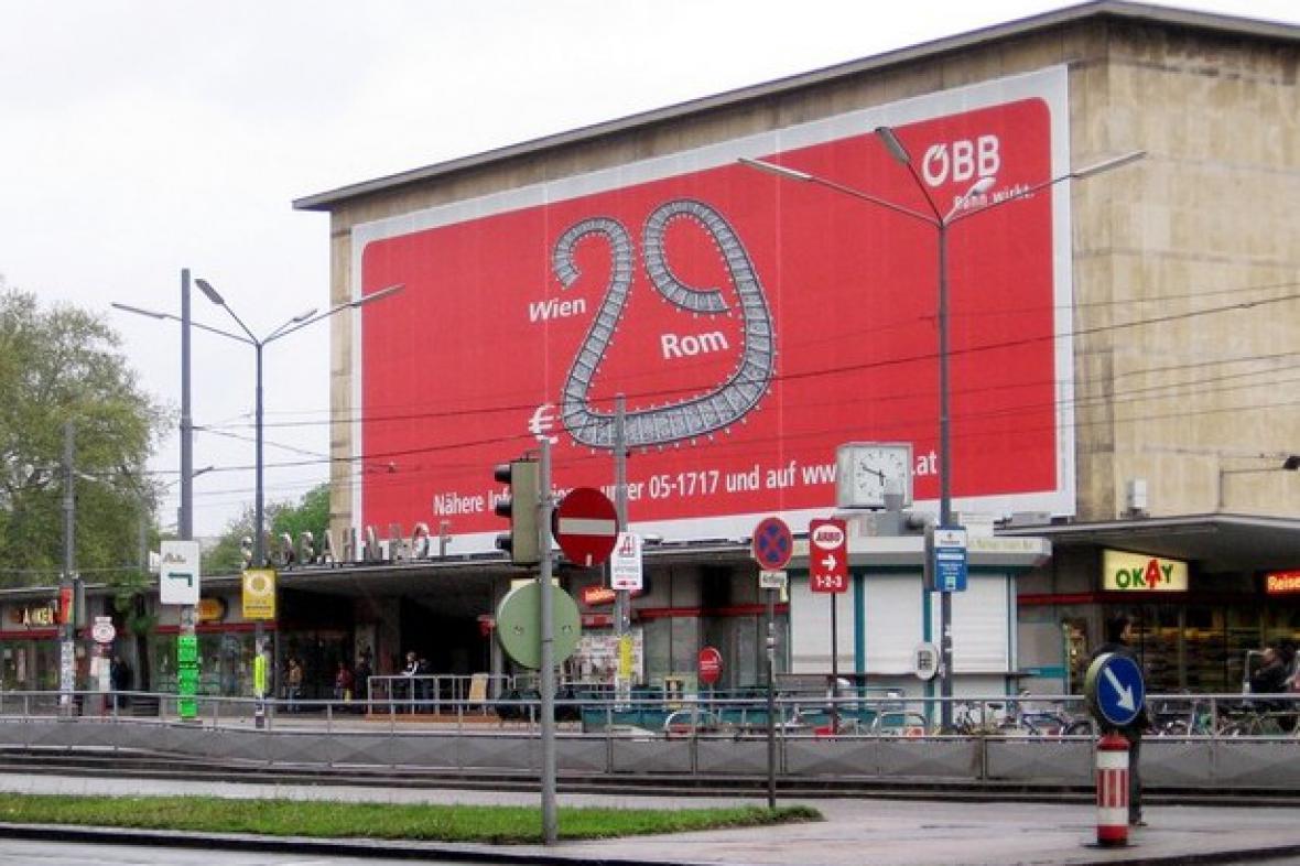 Jižní nádraží ve Vídni