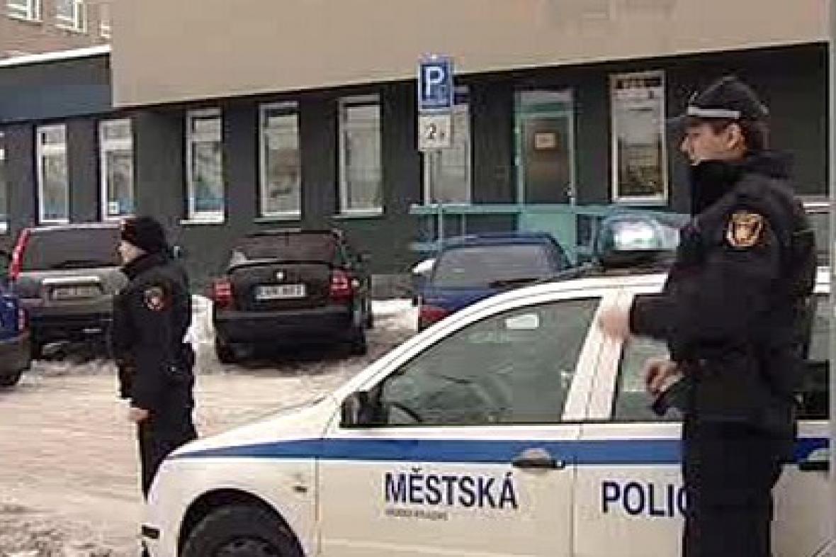 Hlídka městské policie