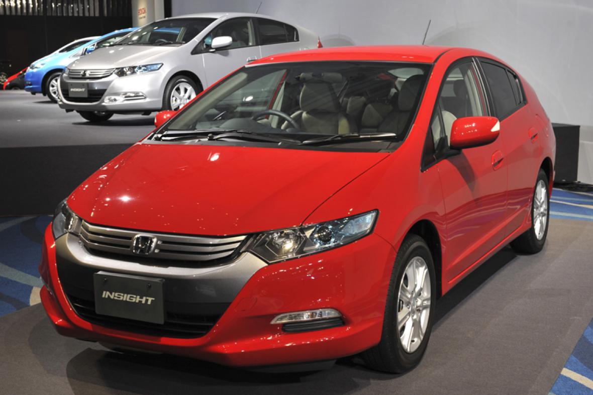 Hybridní Honda
