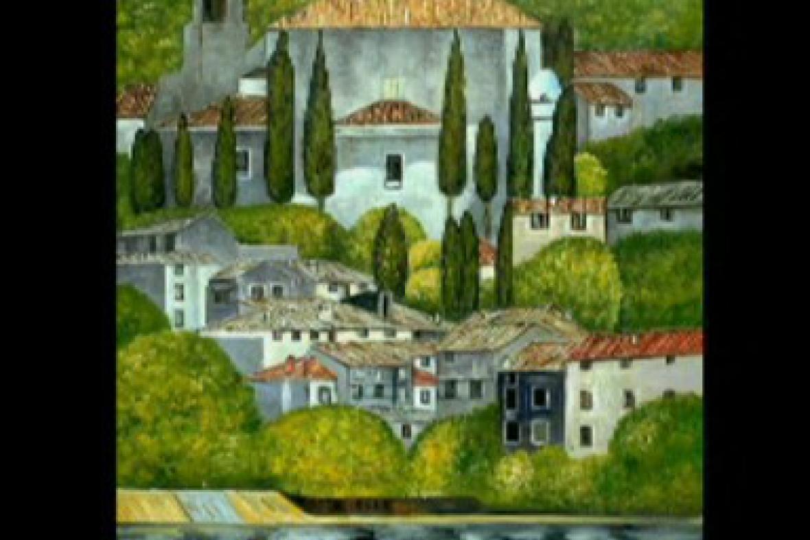 Gustav Klimt / Kostel v Cassone