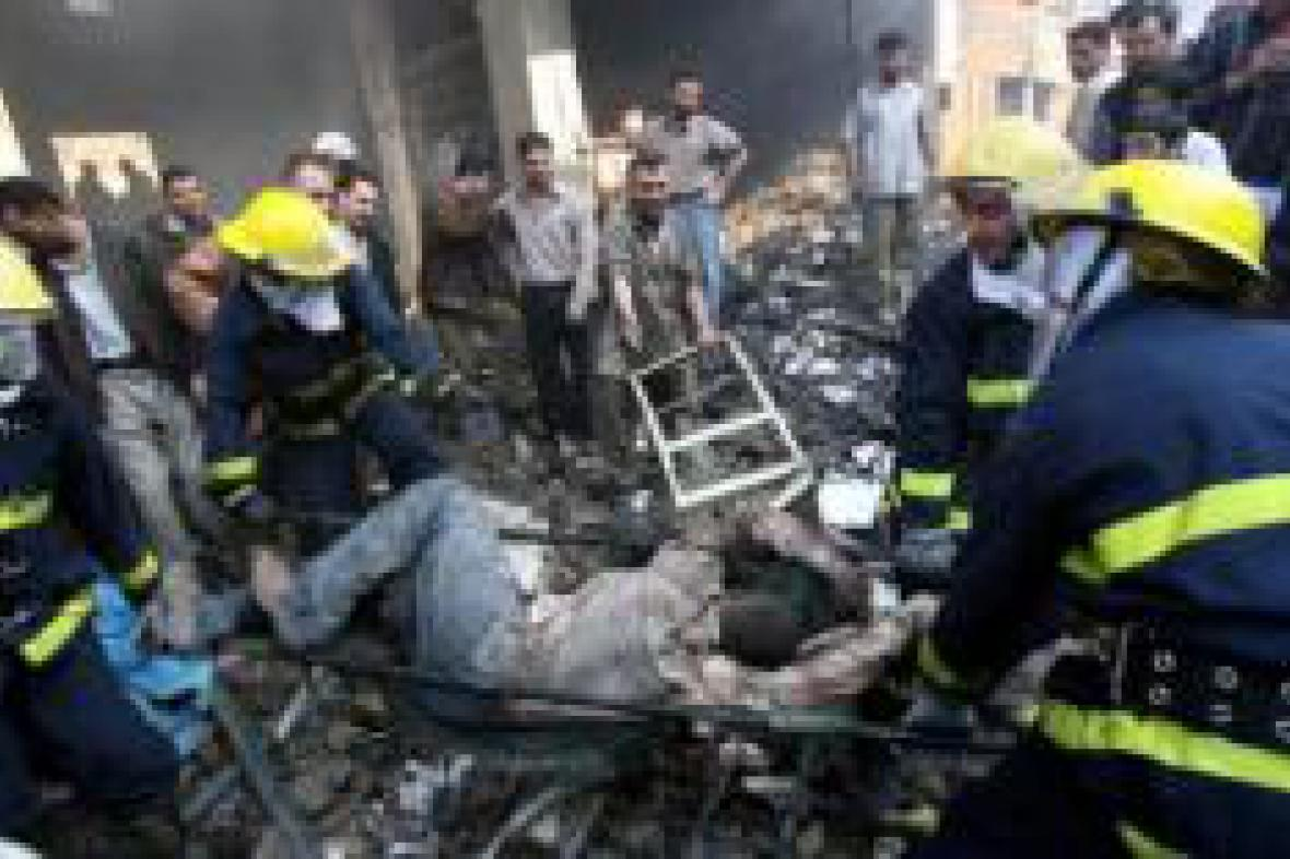 Sebevražedný útok v Iráku