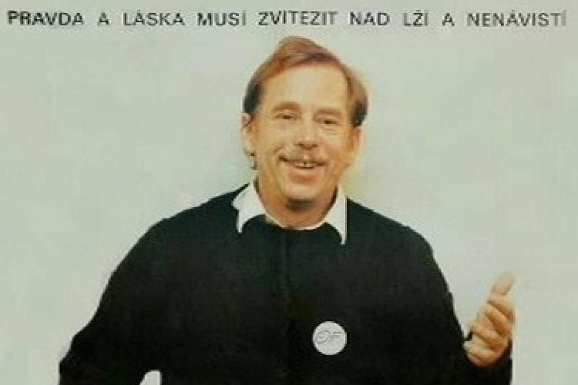 Václav Havel a jeho heslo