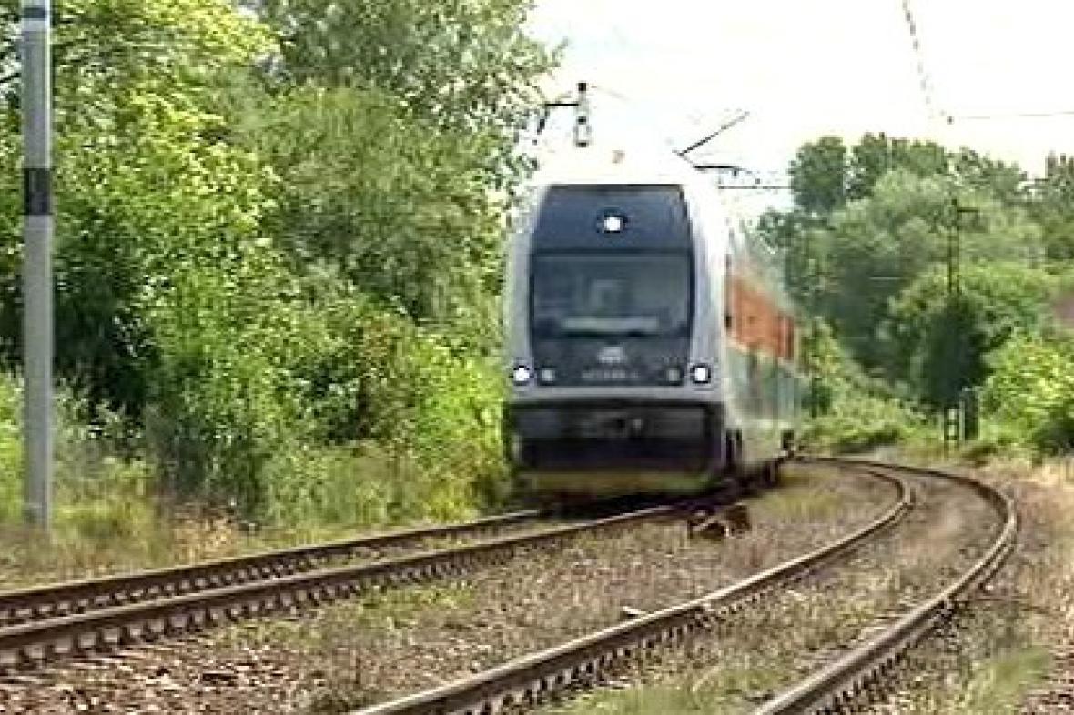 Vlak na trati