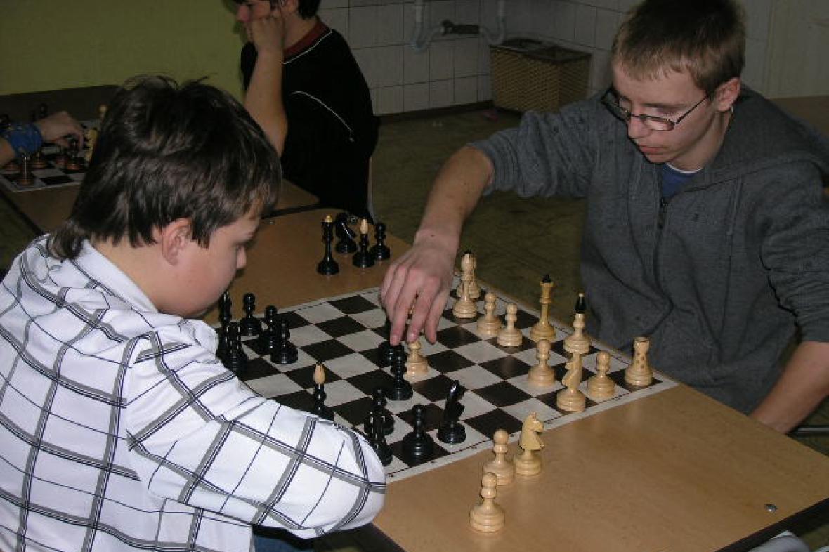 Šachová soutěž v Šumné