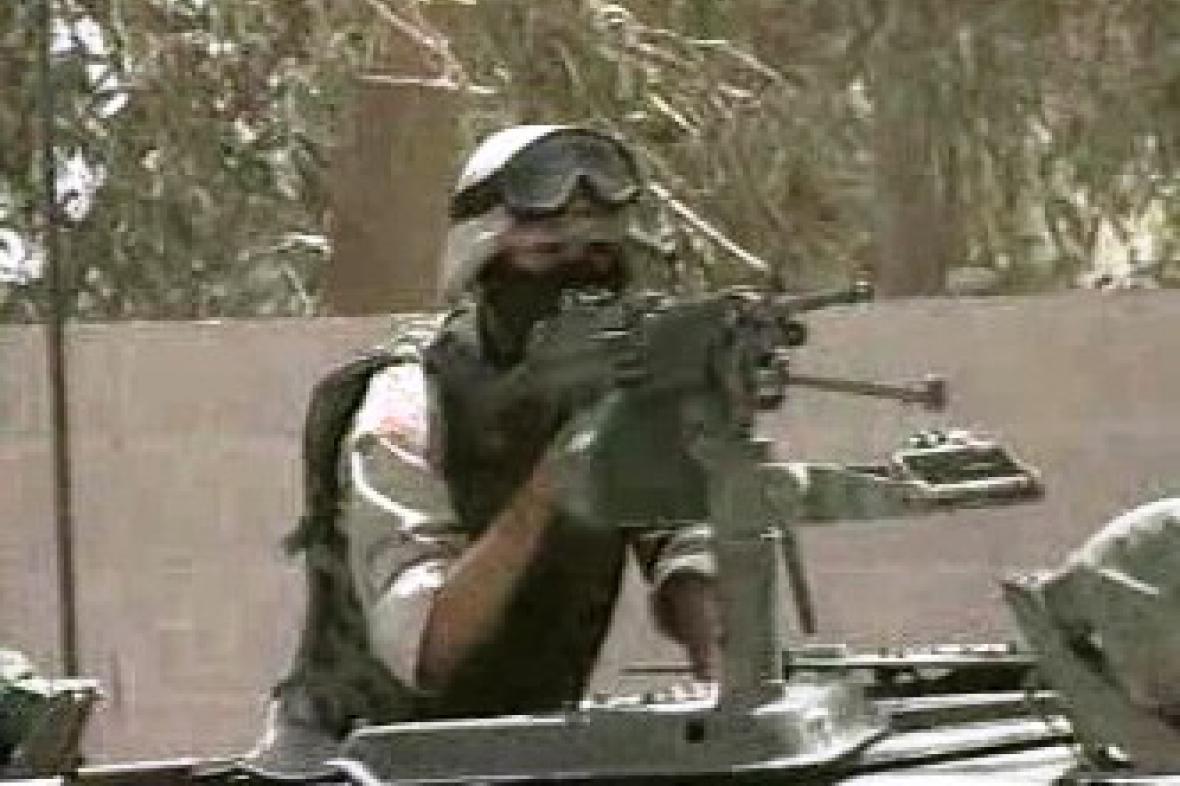 Spojenecký voják v Iráku