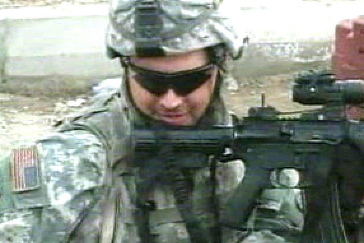 Americké jednotky v Iráku