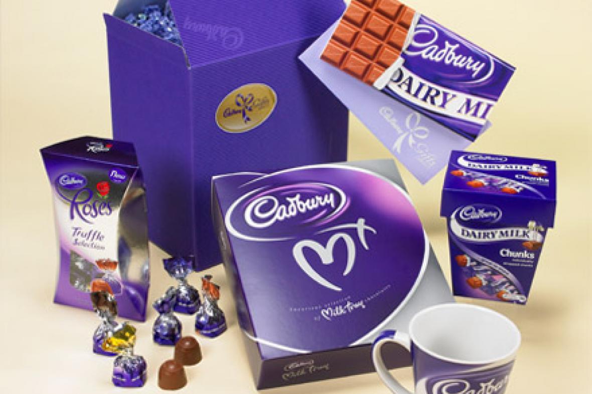 Výrobky firmy Cadbury