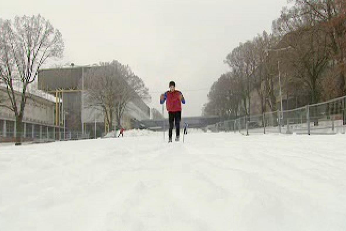 Běžecká trať na Strahově