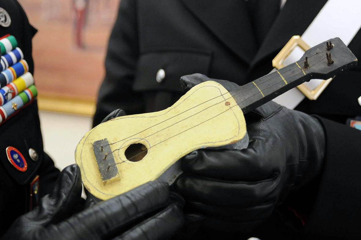 Picassova kytarka pro dcerku