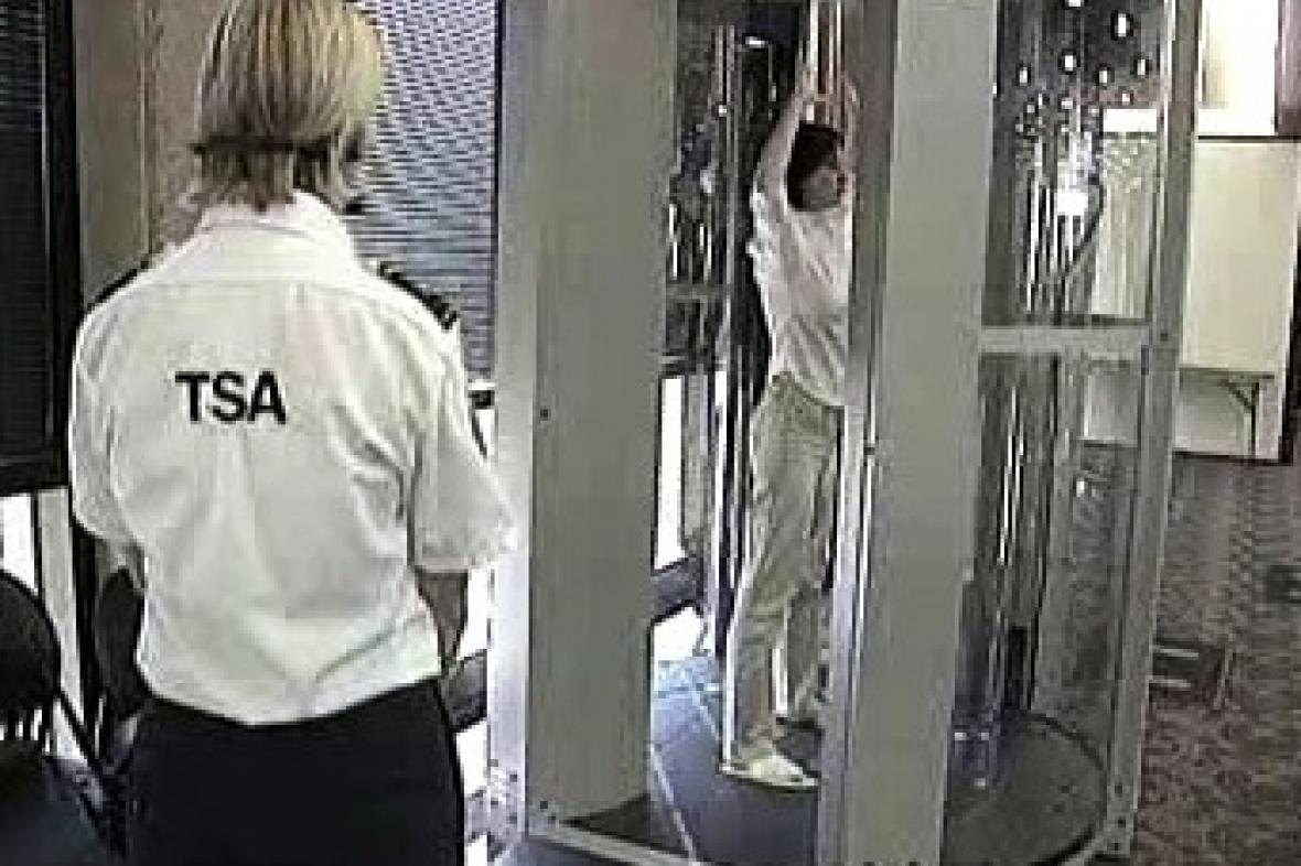 Nový skener na amerických letištích