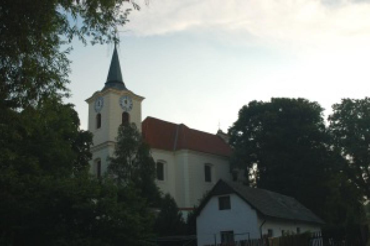 Kostel Všech svatých v Líšnici