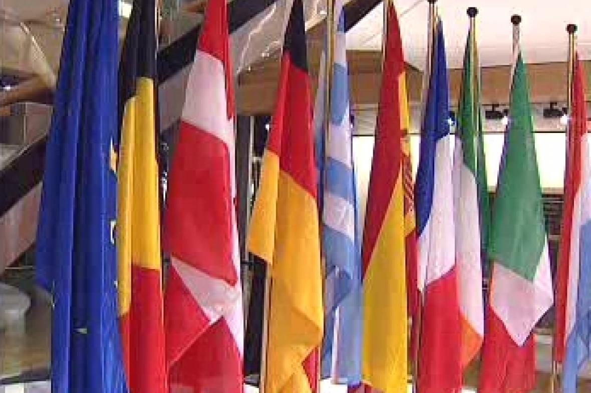 Vlajky zemí Evropské unie