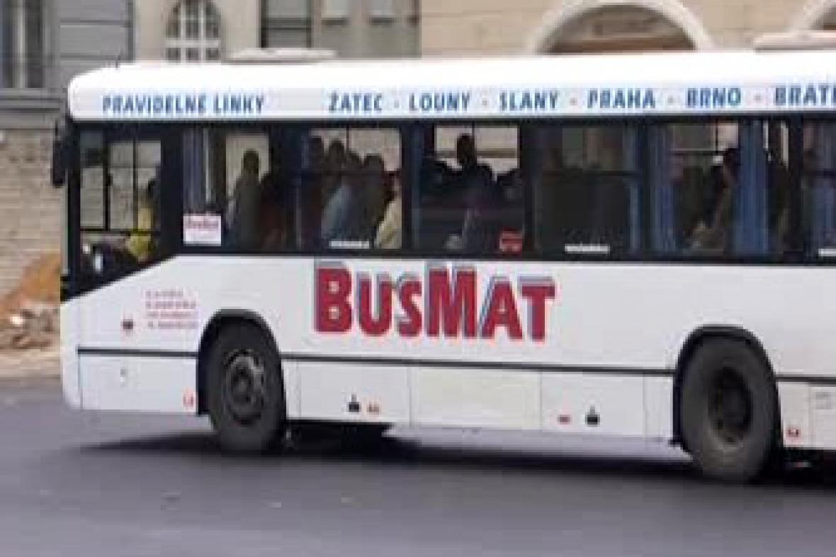 Autobus firmy BusMat