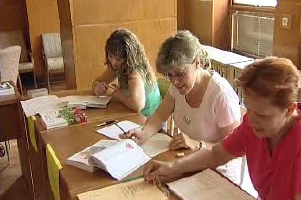 Účastnice vzdělávacího kurzu