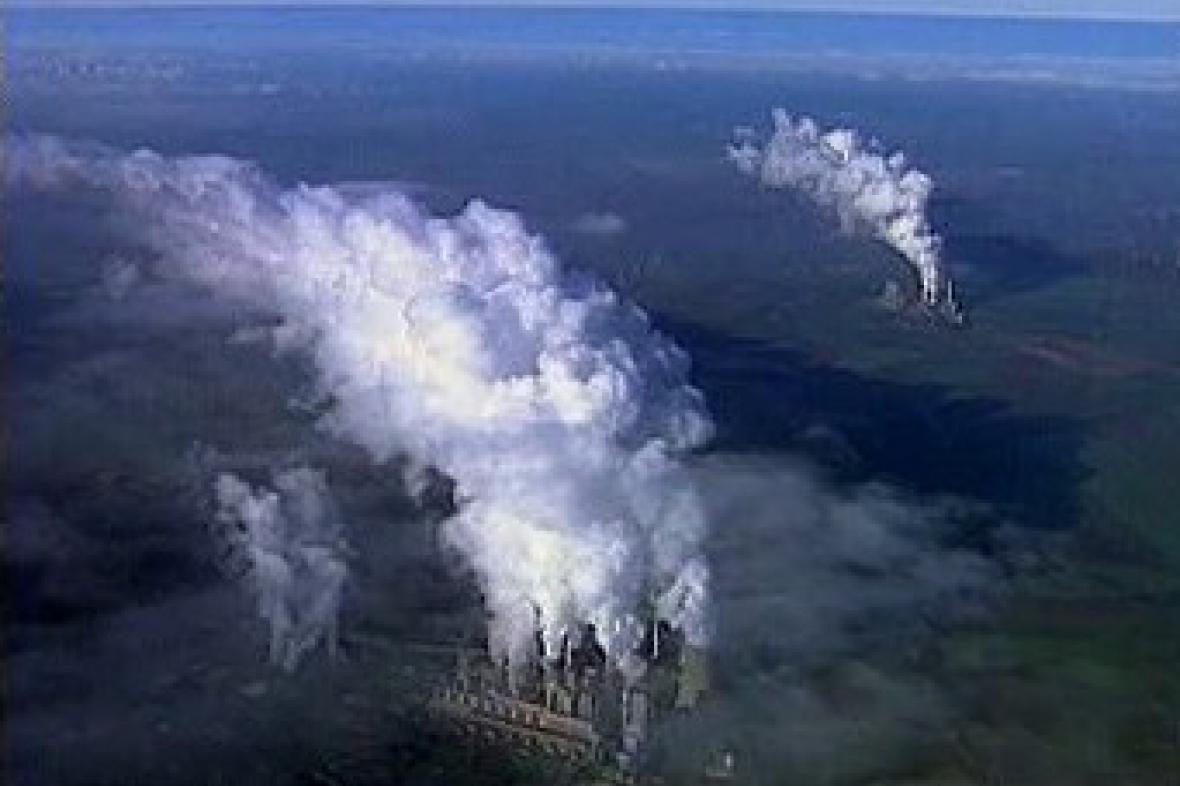 Emise skleníkových plynů