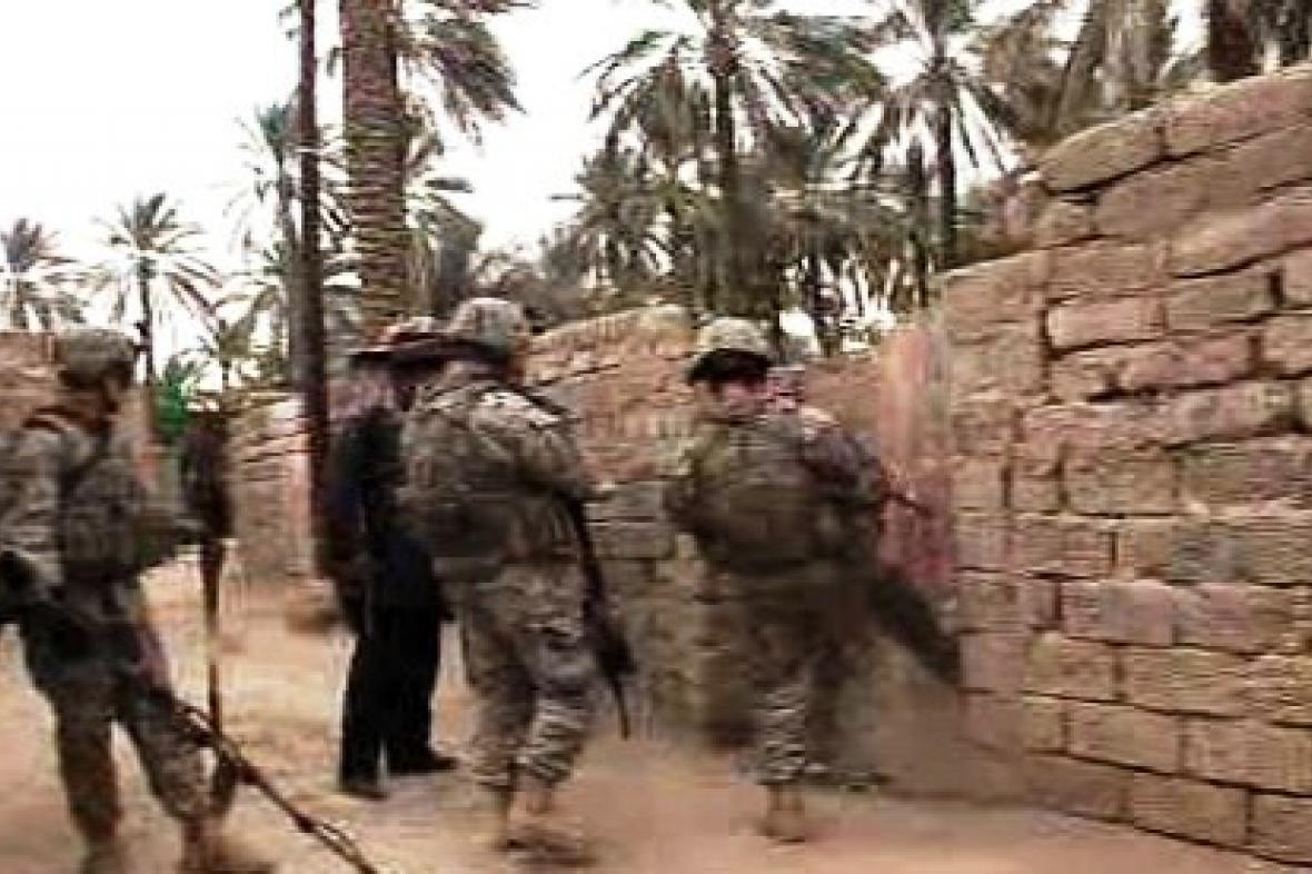 Vojenská razie v Iráku