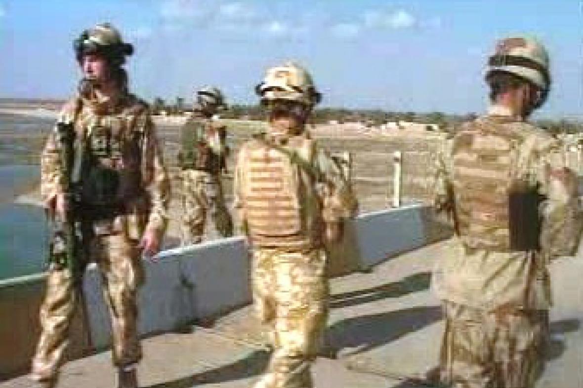 Vojáci v Iráku