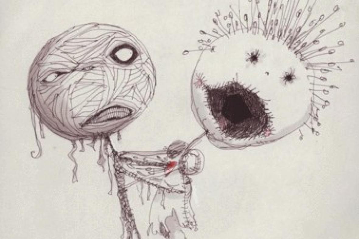 Z výstavy Tim Burton