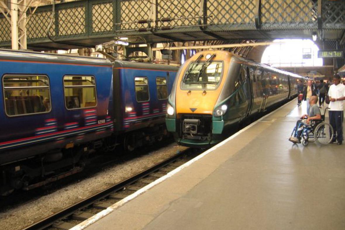 Anglický vlak
