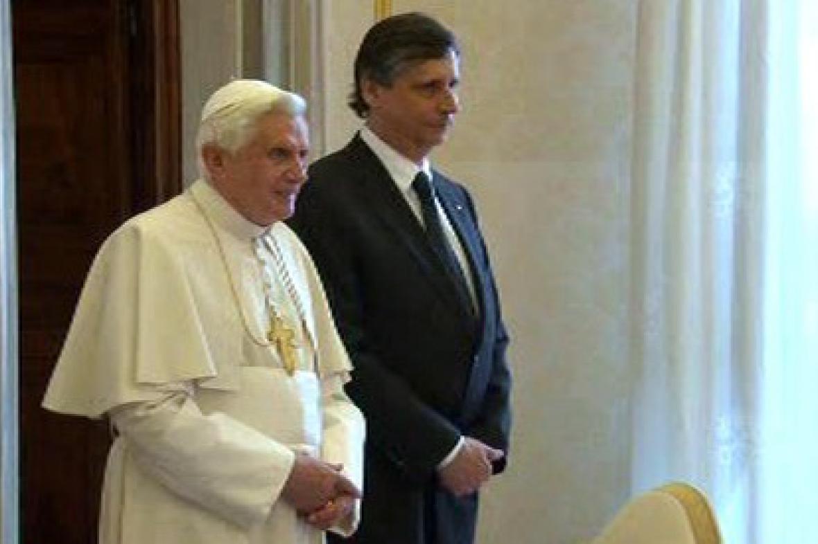 Papež, Fischer