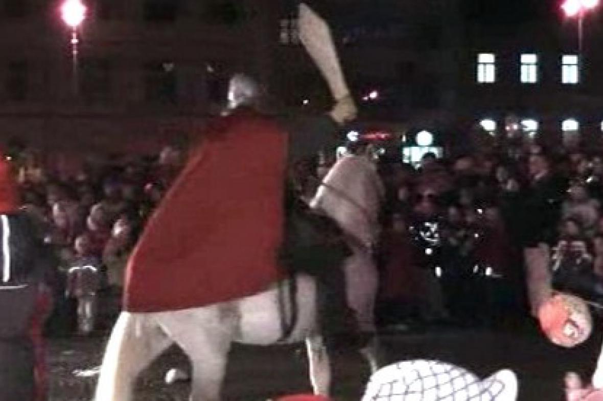 Sv. Martin dorazil do Příbrami
