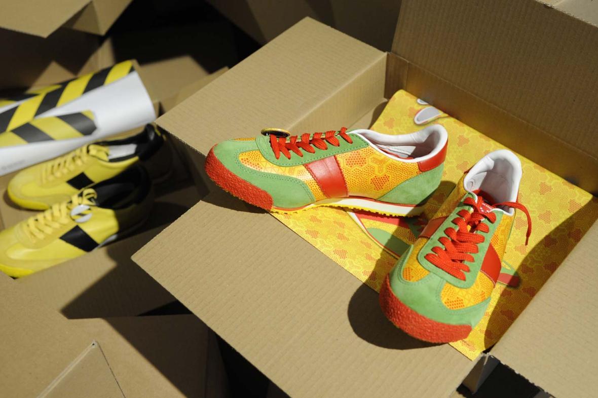 Nově modely bot Botas