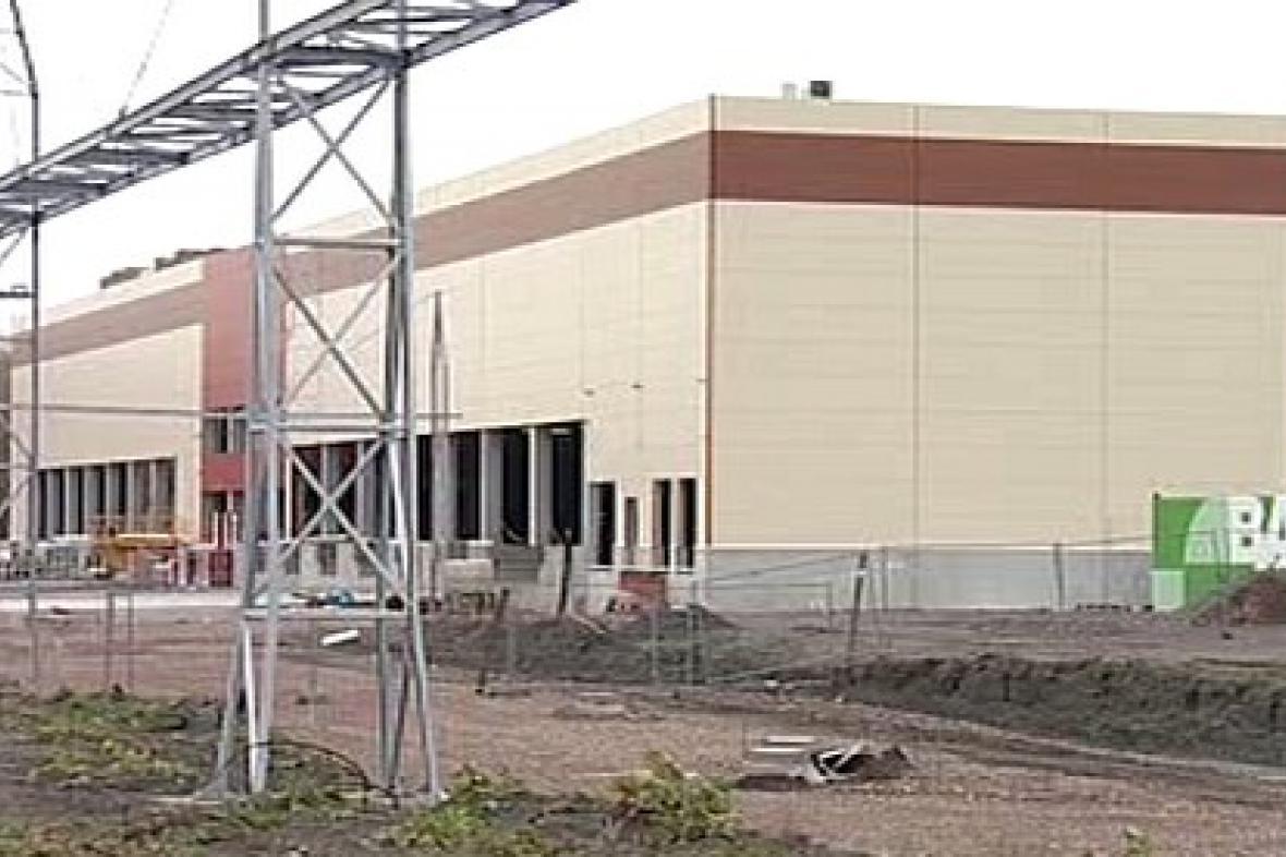 Stavba logistického centra