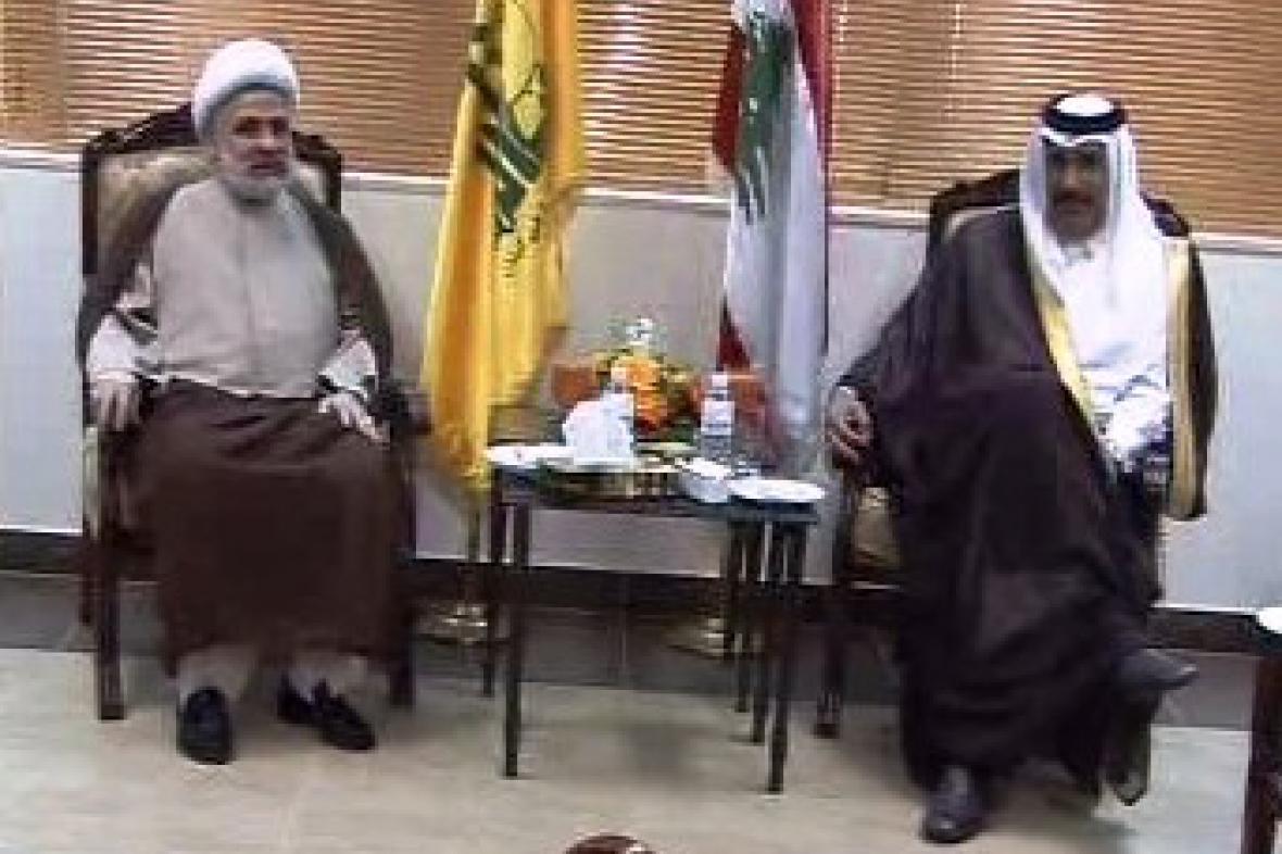 Jednání libanonské vlády s opozicí