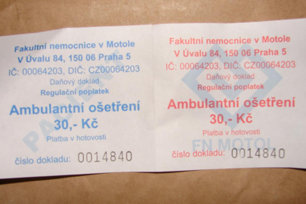 Nemocniční kupón