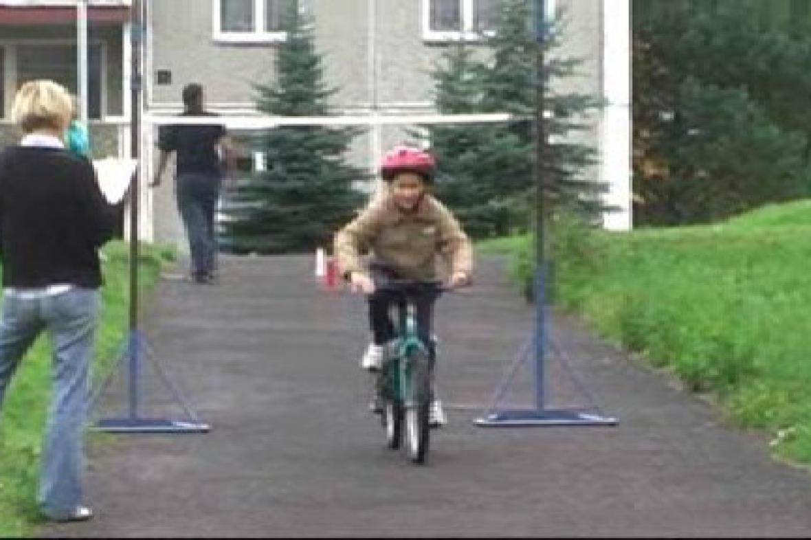 Závodník na trati