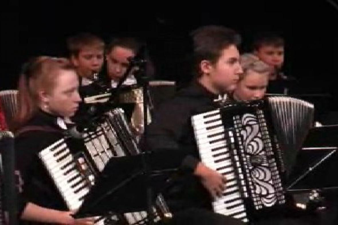 Dětský soubor harmonikářů
