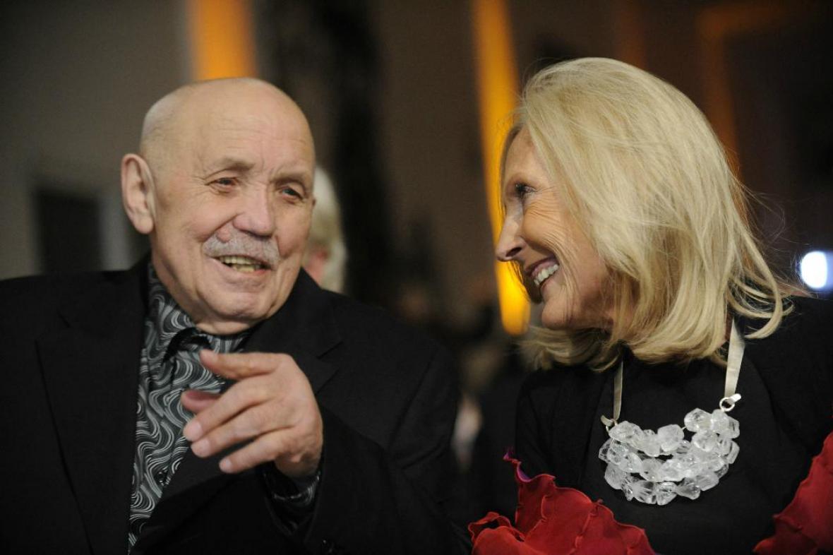 Vladimír Kopecký a Eva Jiřičná