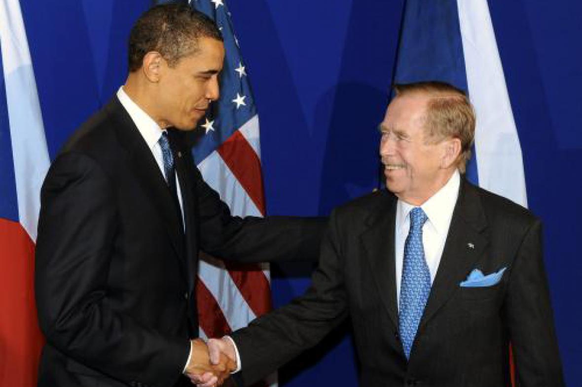 Obama, Havel