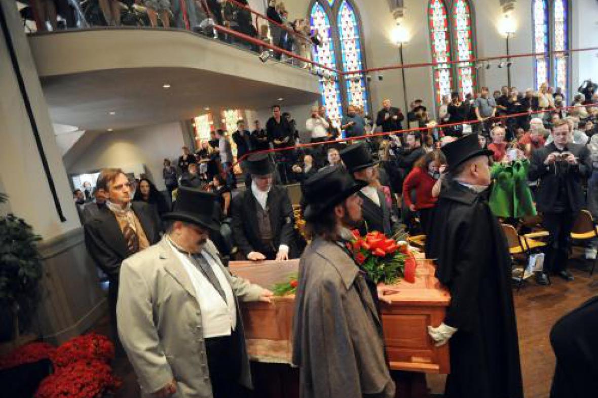 Pohřeb E. A. Poea