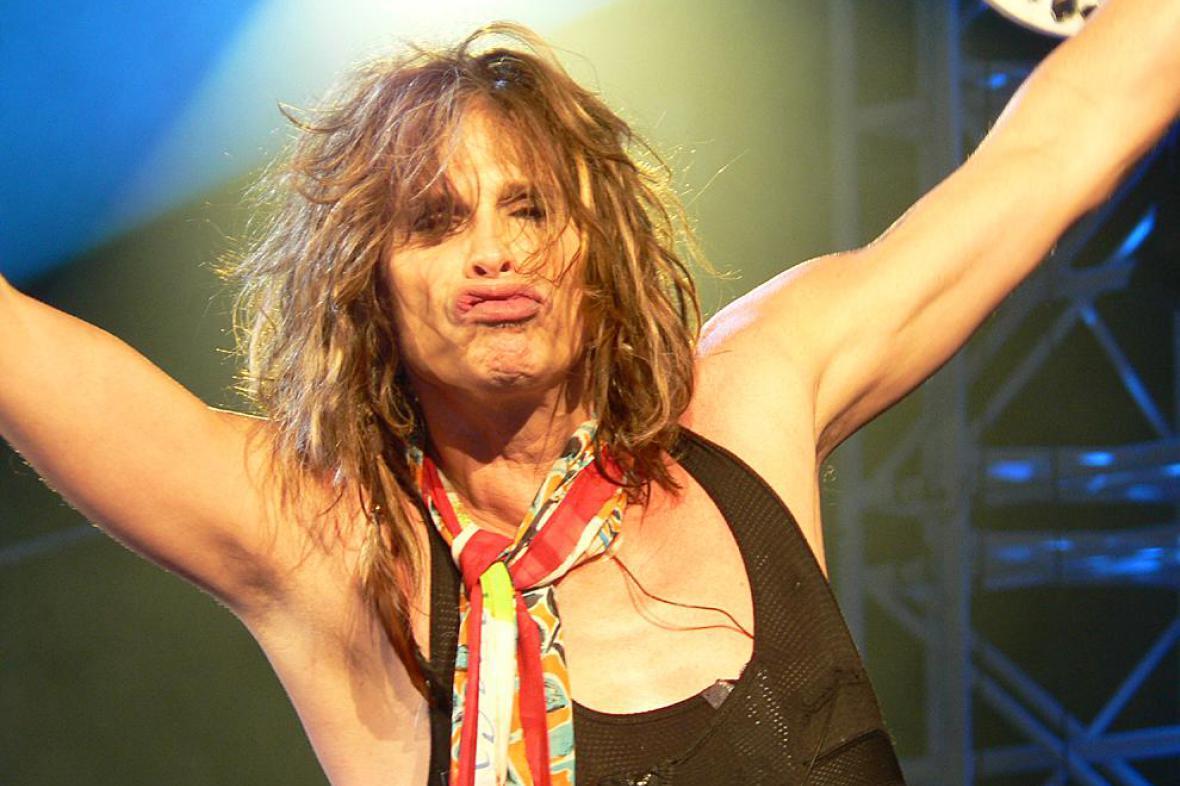 Steven Tyler z Aerosmith