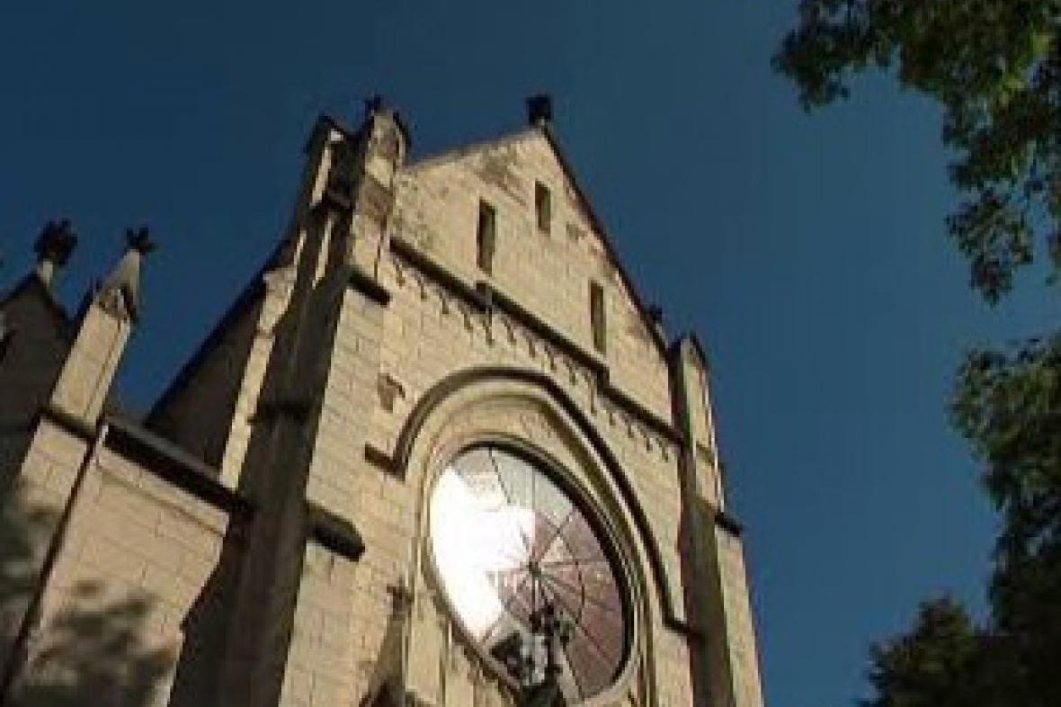 Kostel v Orlové