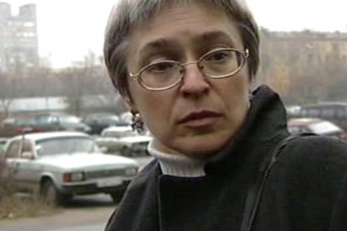 Ruská novinářka Anna Politkovská