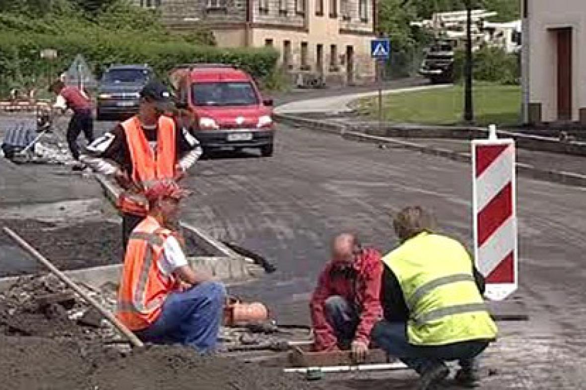 Oprava silnice