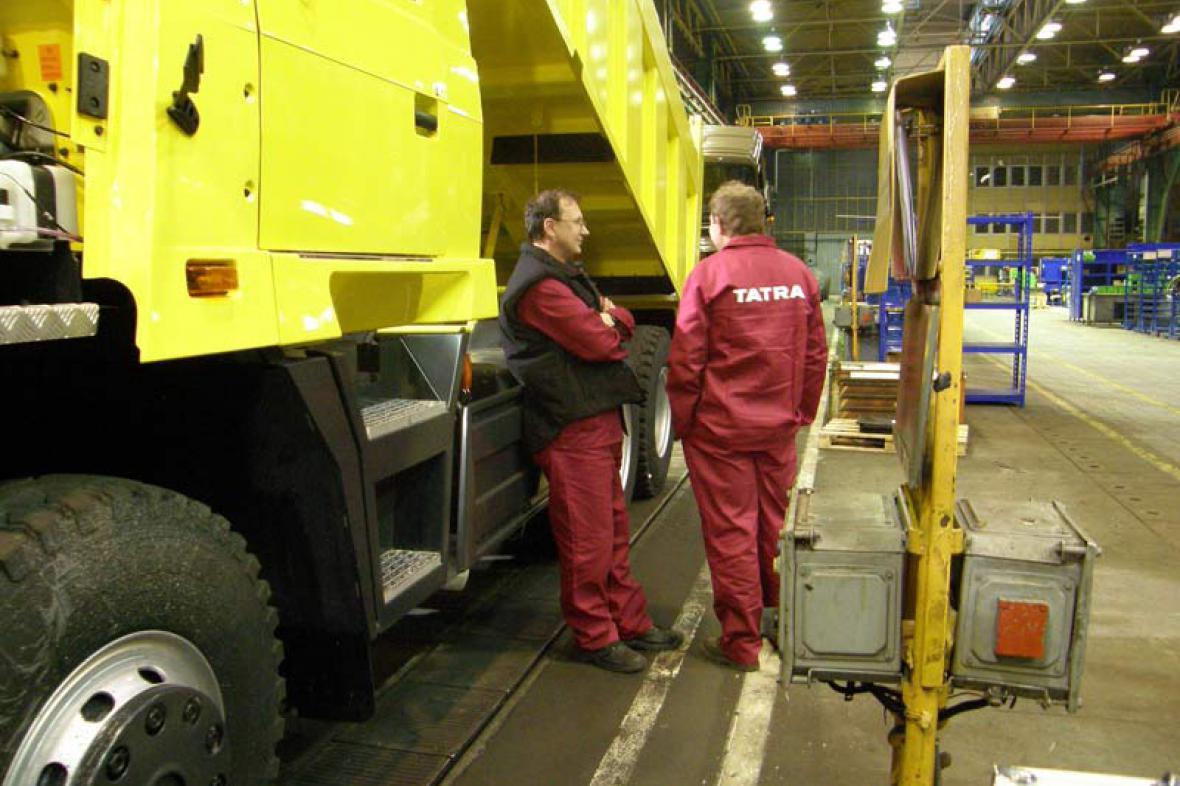 Zaměstnanci Tatra Kopřivnice