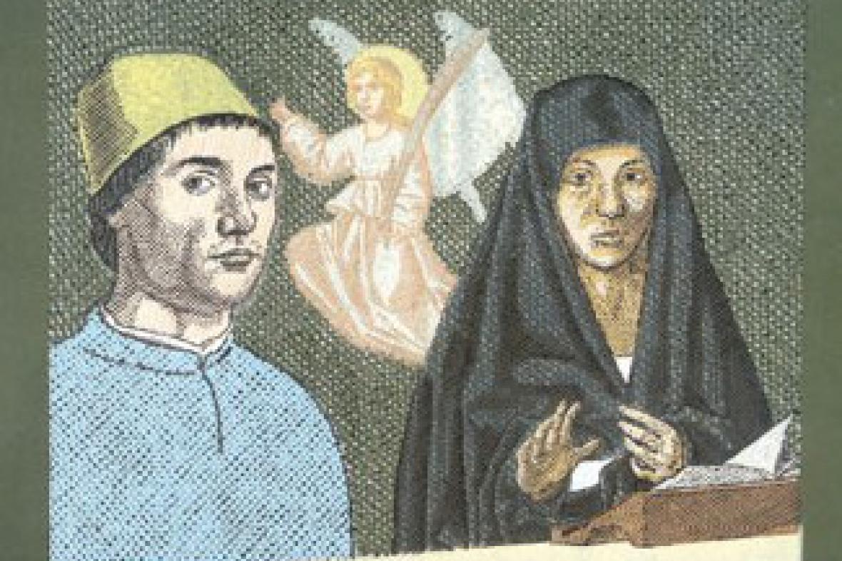 Pavel Piekar / Antonello da Messina a svatá panna