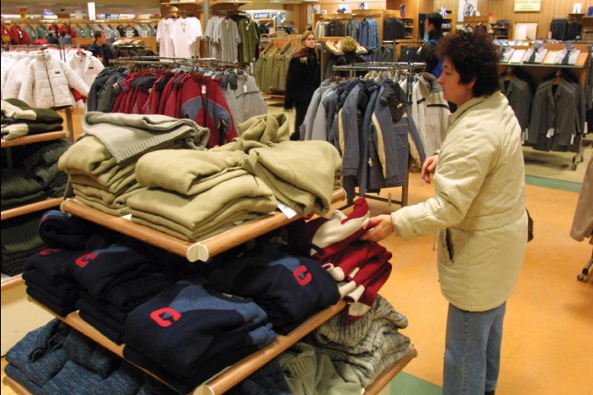 Obchod s textilem