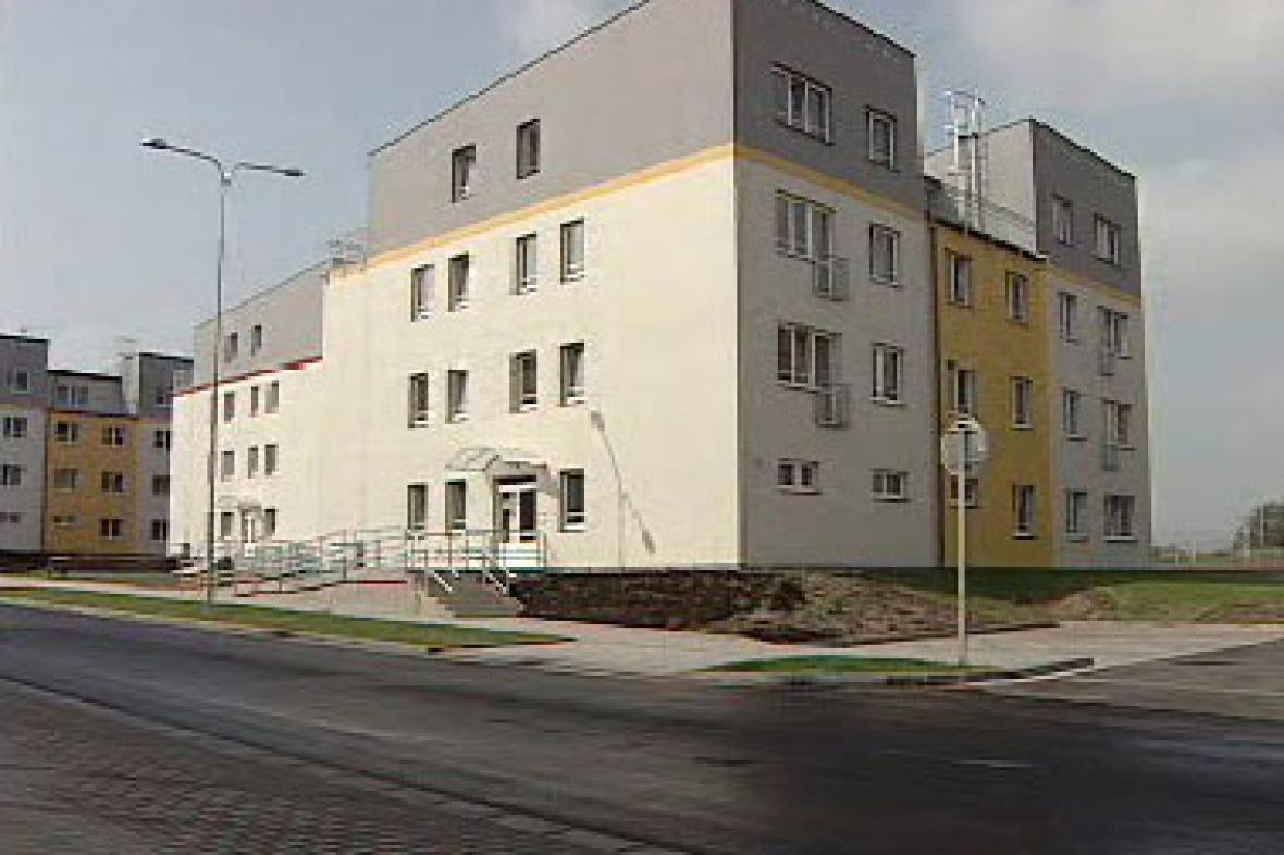 Nové obytné domy pro TPCA
