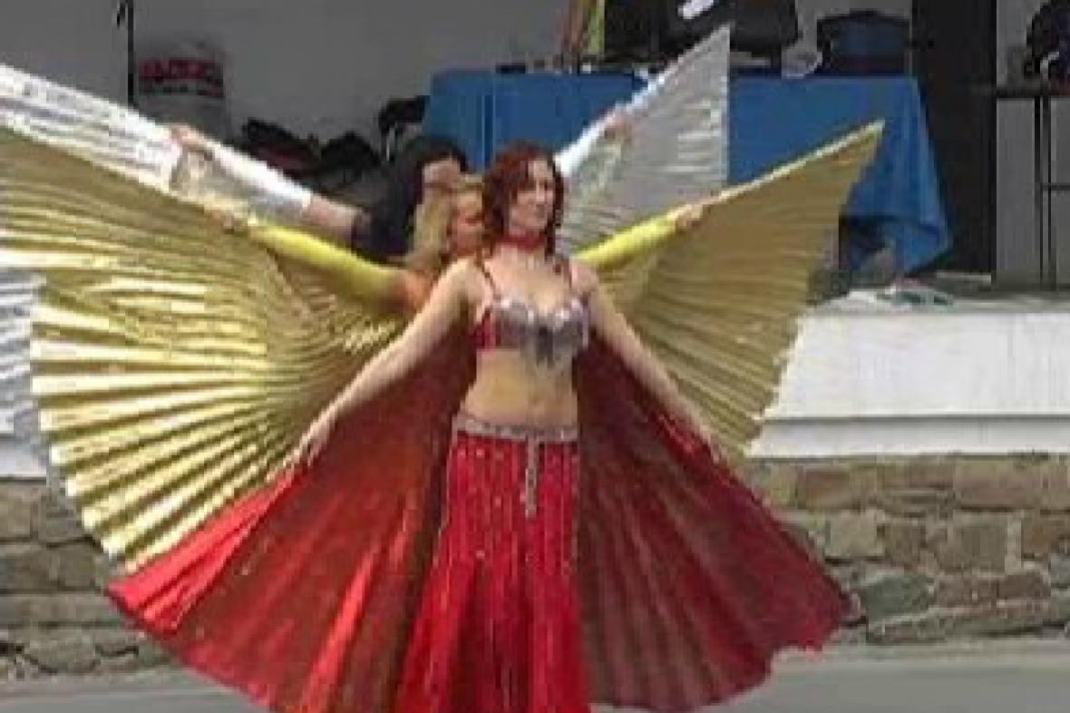 Vystoupení břišních tanečnic