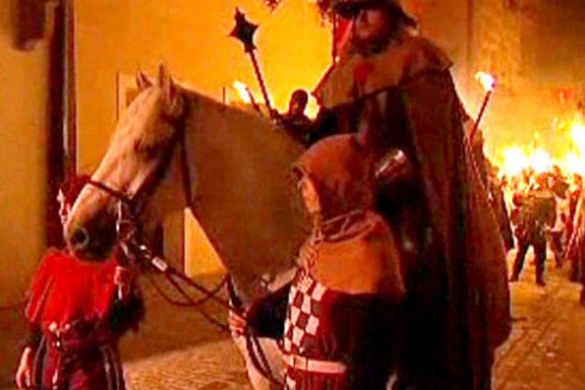 Husitské oslavy v Táboře