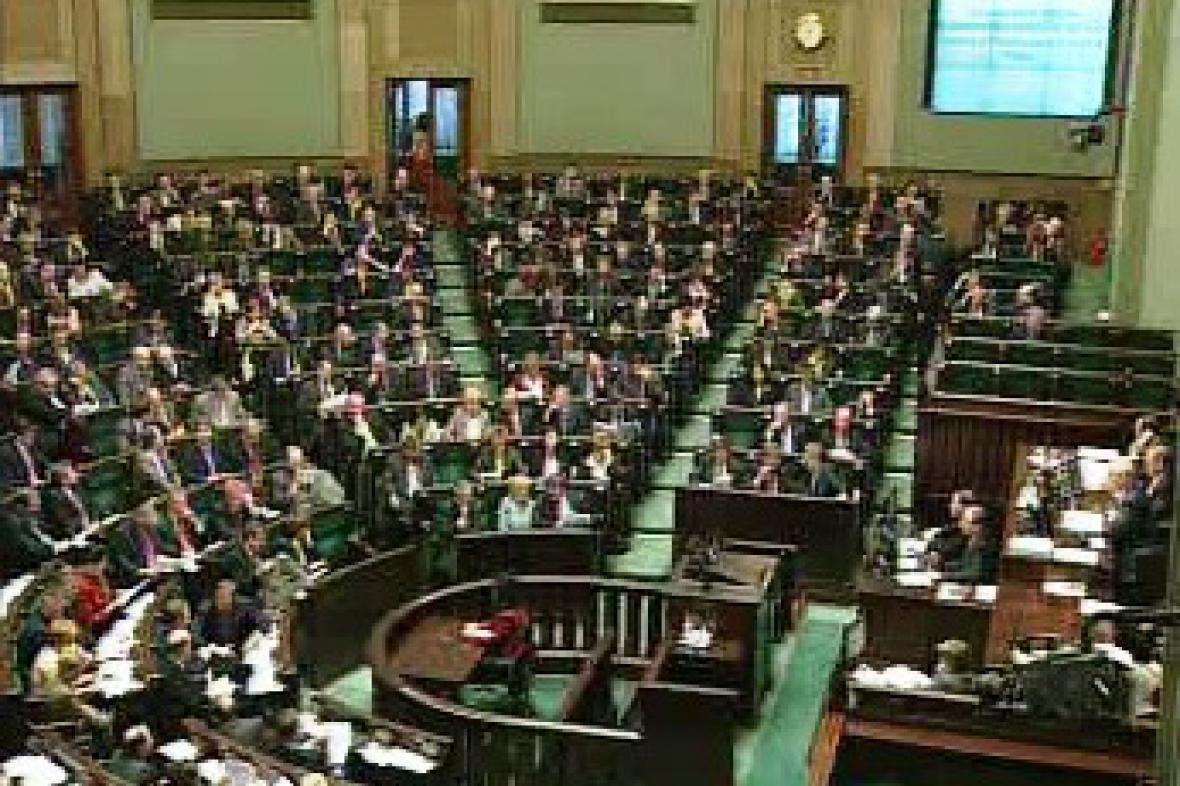 Polský parlament - Sejm