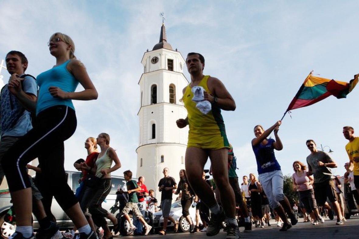 Oslavy v Pobaltí