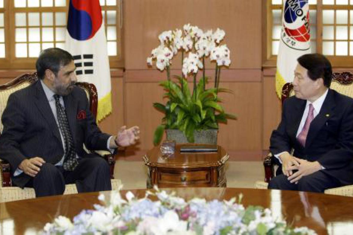Ču Mžong-chwan a Ánand Šarma