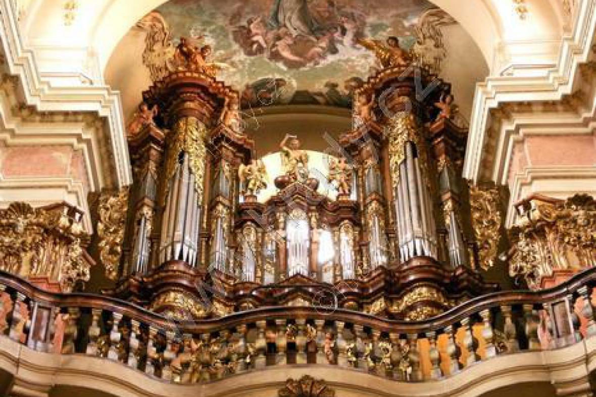 Bazilika sv. Jakuba - varhany